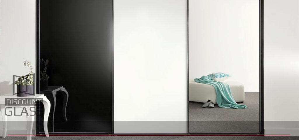 coloured glass wardrobe panel doors sunshine coast