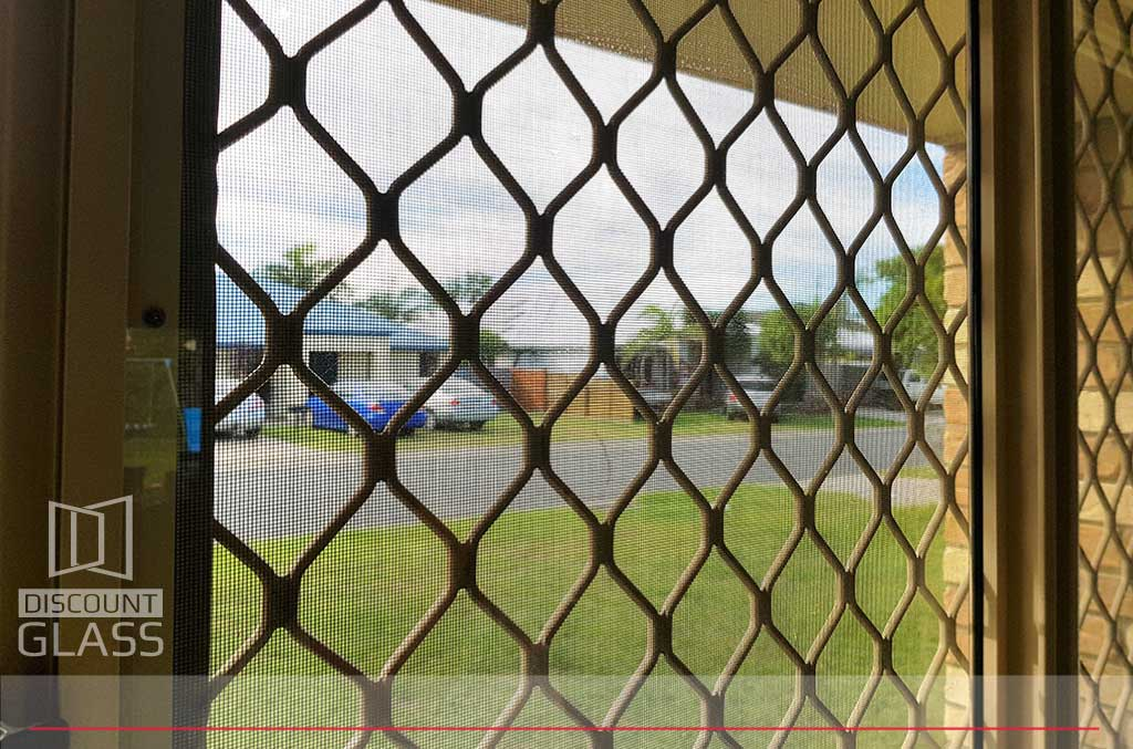 diamond grille security screens sunshine coast