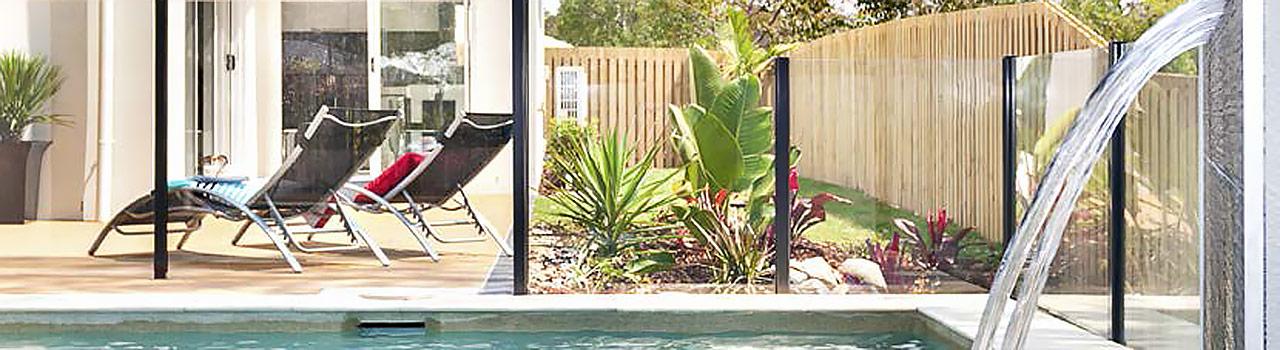 glass pool fencing sunshine coast balustrade